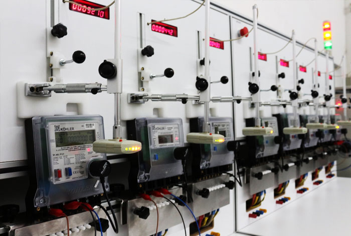 Electrical Meter and Control Cards EMC Tests
