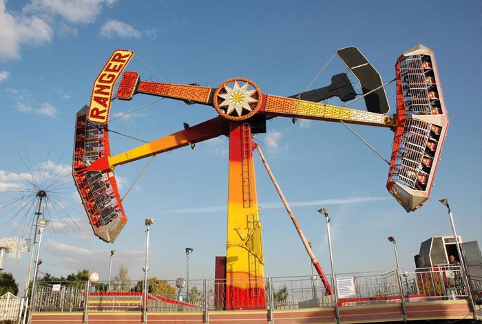 Contrôles des machines de parc d'attractions
