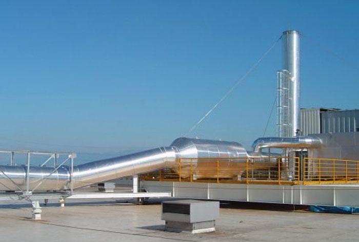 Inspection d'usine d'oxydation thermique