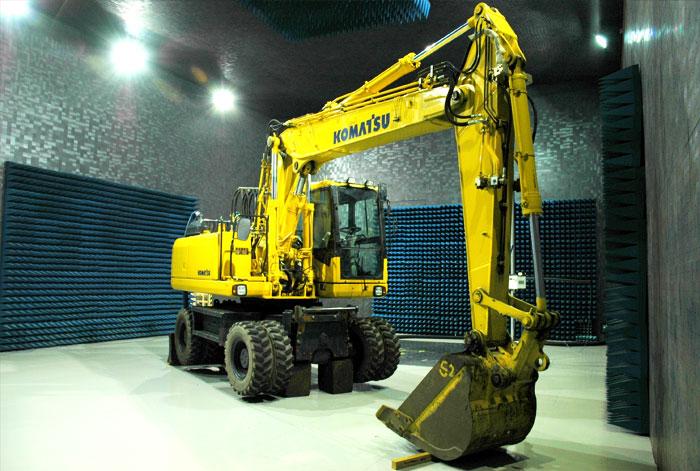 Construction Machinery EMC Tests